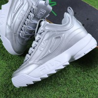 FILA Disruptor II 2 Silver Shoes - Best Online Sale