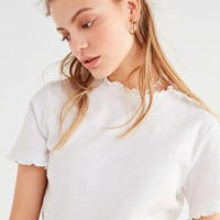 UO Sukie Lettuce Edge Tee   Urban Outfitters