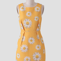 Daisy Bell Printed Dress