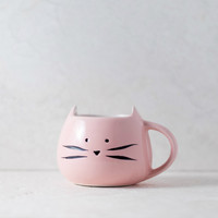 Cat Pink Coffee Mug