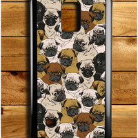 Doggy Pattern Colour Samsung Galaxy Note 4 Case