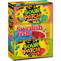 Sour Patch Kids/ Watermelon/Swedish Fish, 18 count - Walmart.com