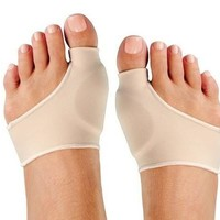 Nude Color Two Size Foot Health Care Bunion Pads Spandex Gel Cushions [9305969991]