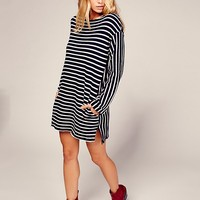 Free People Come On Over Striped Tunic