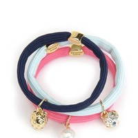 Set Of 3 Charmy Elastics by Juicy Couture