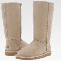 Sand Classic Tall UGG Boots [5815 Sand] - $81.89 :