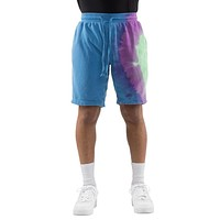 EPTM Air Brush Tie Dyed Shorts (Blue)