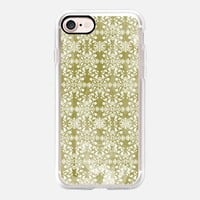 Flower lace_olive iPhone 7 Case by Kanika Mathur | Casetify