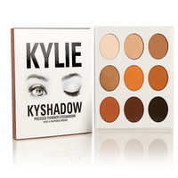 [FREE SHIPPING] Trending KYLIE KYShadow Eyeshadow Chocolate palette