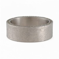 The Clay Pot | TODD REED- Men's Palladium Raw Diamond Cube Band