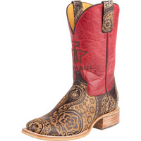 Women's Tin Haul Paisley Rocks Cowboy Boots