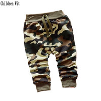 2017 new spring and autumn cotton sport style army soldiers children pants 0-3 year kids pants boys/girls pants Children Wit