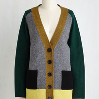 Draped in the Landscape Cardigan | Mod Retro Vintage Sweaters | ModCloth.com