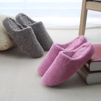 Cotton Winter Couple Waterproof Anti-skid Slippers [8102200257]