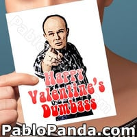Funny Valentine Card   That 70S Show   Handmade Greeting Girl Valentine Cards Funny Valentines Day Red Forman Gift For Men Romantic