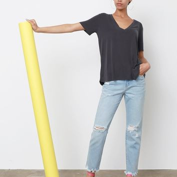 Carine Boyfriend Jeans - Light Blue