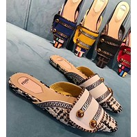 Fendi Fashion Slippers and Sandals-2