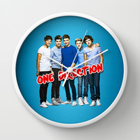 ONE DIRECTION Wall Clock by dan ron eli