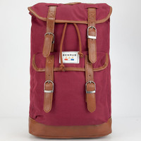 Benrus Scout Backpack Burgundy One Size For Men 25648032001