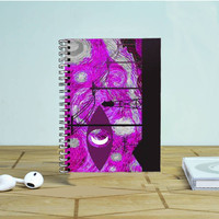 Welcome To Night Vale Starry Night Photo Notebook Auroid