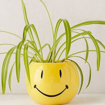 Smiley Face Planter | Urban Outfitters