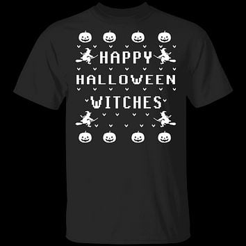 Happy Halloween Witches T-Shirt
