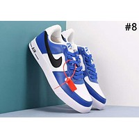 Nike Air Force 1 classic style street fashion low men and women models wild sports shoes #8