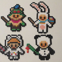 DIY Kit- League of Legends Inspired Teemo Bead Sprite Magnets, Wall Decor, or Ornament
