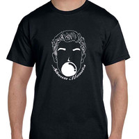 Shawn Mendes Balloon Black And White Illustrations Mens T Shirt