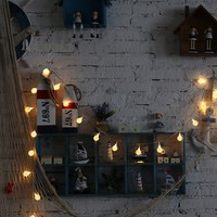 20PC Bulb String Light Battery Operated