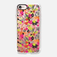 Neon Wilderness Transparent iPhone 7 Case by Kanika Mathur | Casetify