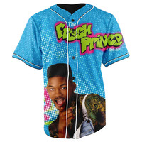 The Fresh Prince of Bel-Air Button Up Baseball Jersey