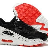 """Nike Air Max 90"" Unisex Sport Casual Multicolor Galaxy Air Cushion Sneakers Couple Running Shoes"