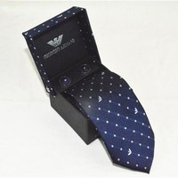 Armani Tie cheap fashion luxury brand mens tie Business Casual high quality