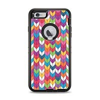 The Color Knitted Apple iPhone 6 Plus Otterbox Defender Case Skin Set