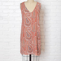 Maisy Paisley Print Dress-FINAL SALE