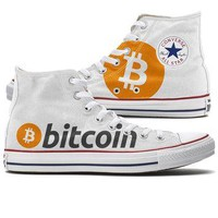 Bitcoin Converse High Tops