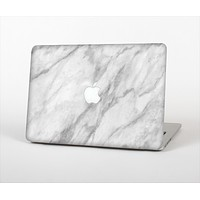 "The White Marble Surface Skin Set for the Apple MacBook Pro 13"" with Retina Display"