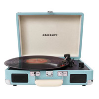Crosley Cruiser Portable Turntable Turquoise One Size For Men 26116924101