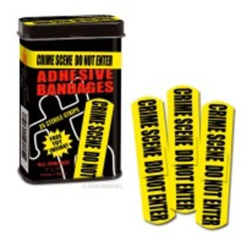 """Search results for: '""""Crime Scene Bandages""""' - Whimsical & Unique Gift Ideas for the Coolest Gift Givers"""