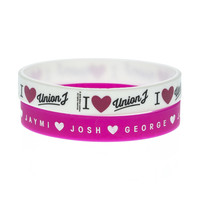 Union J 2 Pack Gummy Bracelets