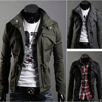 Military Style Lightweight Parka
