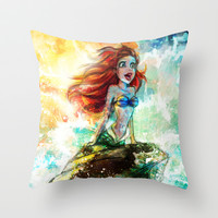 ~~ Someday I'll be part of your wooooorld~~ Throw Pillow by Emiliano Morciano (Ateyo)