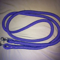 Roping Reins 1/2 double braid polyester rope by RowdysRopes
