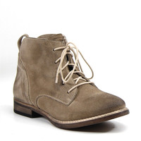 Diba True Shoes Every Thing Lace Up Booties Taupe