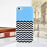 Cute Stripe Hard Case Phone Protective Cover for iPhone 5 5s