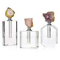 Quartz Perfume Bottle | Amethyst | Color Guide | Trends | Z Gallerie