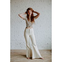 Farrah Bell Bottoms - size large only