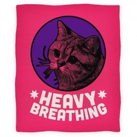 Starecat (Heavy Breathing) Blanket