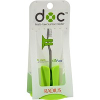 Radius Toothbrush Holder - The Doc - Multi-use Suction Holder - 4 Count